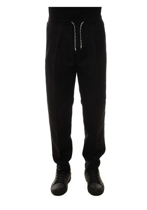Linen trousers with drawstring Emporio Armani | 9 | 3K1PQ1-1NWZZ999