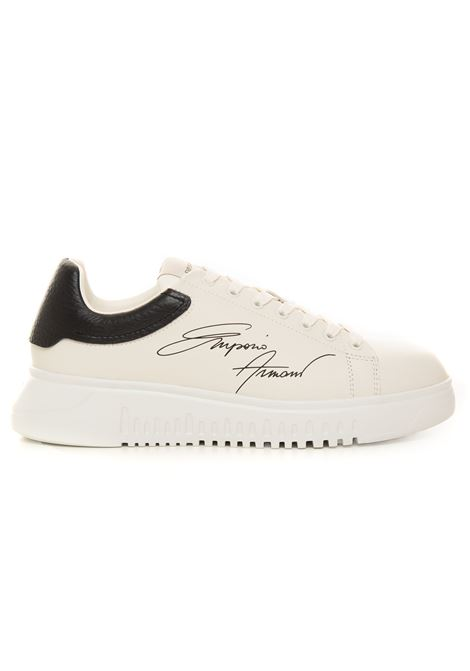 Sneakers with raised part at the back Emporio Armani | 5032317 | X4X264-XM670N422