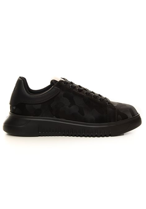 Sneakers with raised part at the back Emporio Armani | 5032317 | X4X264-XM724K001