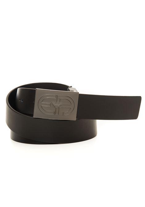 Cintura in pelle bicolore Emporio Armani | 20000041 | Y4S457-Y037J81972