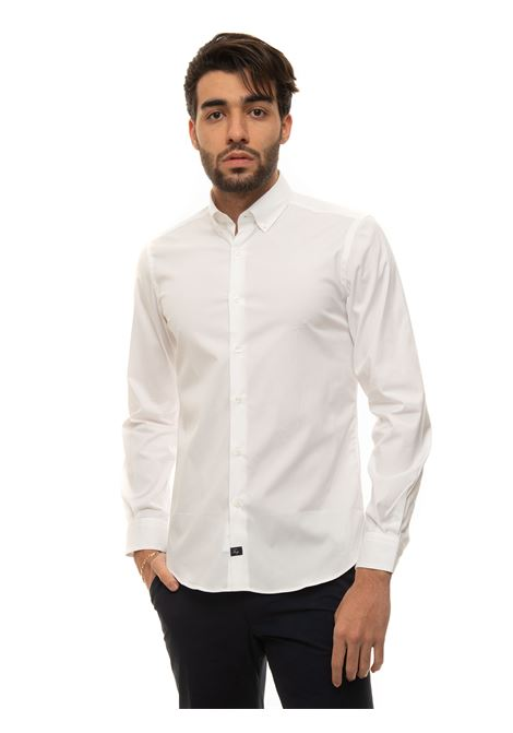Camicia casual Fay | 6 | NCMA142258S-ORMB001