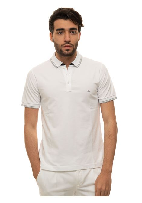 Short-sleeved polo shirt Fay | 2 | NPMB242140S-TDWB001