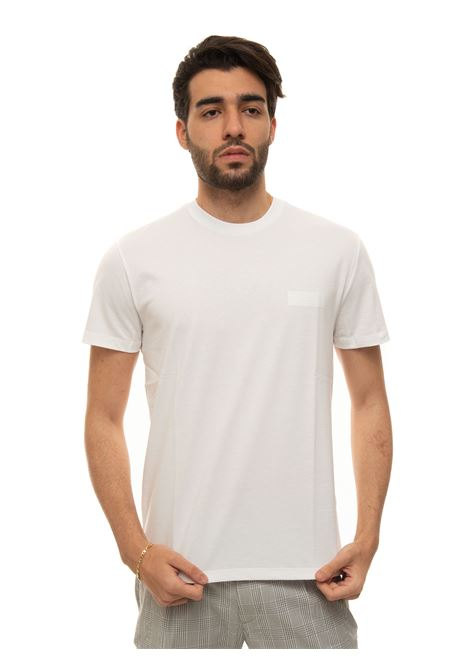 Short-sleeved round-necked T-shirt Fay | 8 | NPMB3421300-SHOB001