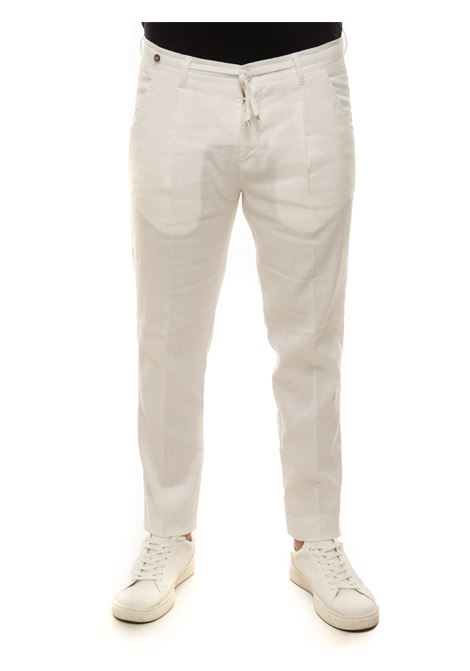 Linen trousers with drawstring Filetto | 9 | DAHLI-JUNGLELINO01