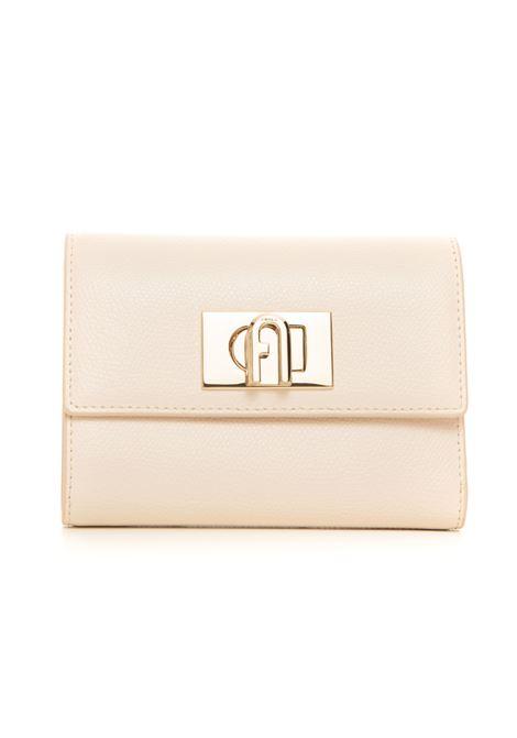 Furla 1927 Zip leather wallet small size Furla | 63 | PCW4ACO-ARE000PER00-PERGAMENA