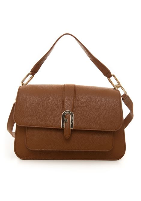 Furla sofia grainy Medium-size leather bag Furla | 31 | WB00093-HSF00003B00-COGNAC