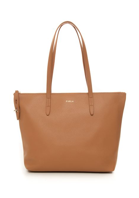 Furla net leather shopping bag Furla | 31 | WB00193-HSF000MI000-MIELE