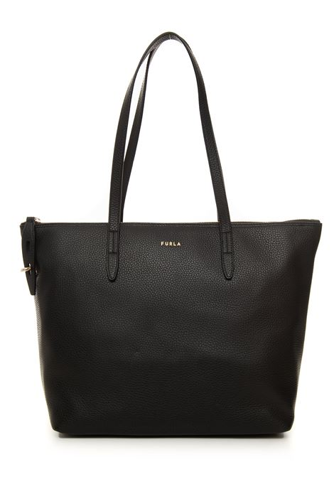 Furla net leather shopping bag Furla | 31 | WB00193-HSF000O6000-NERO