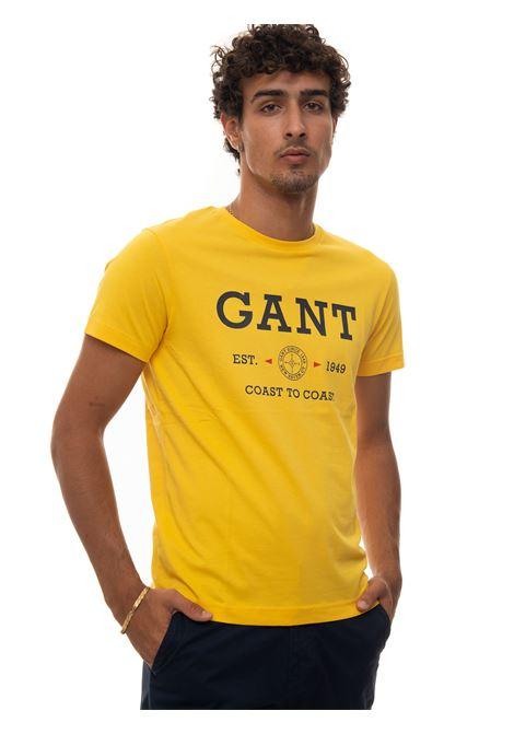 Round-necked T-shirt Gant | 8 | 2003094728