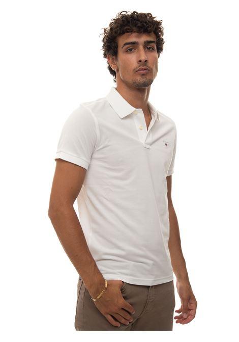 Short-sleeved polo shirt in piquè Gant | 2 | 2201110