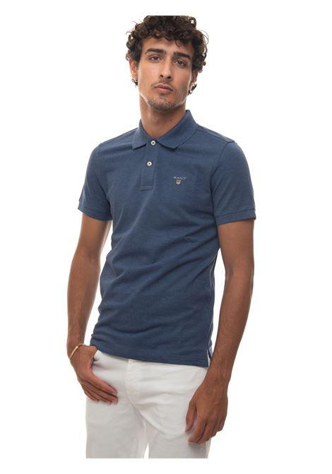 Short-sleeved polo shirt in piquè Gant | 2 | 2201487