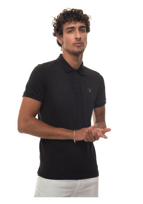 Short-sleeved polo shirt in piquè Gant | 2 | 22015