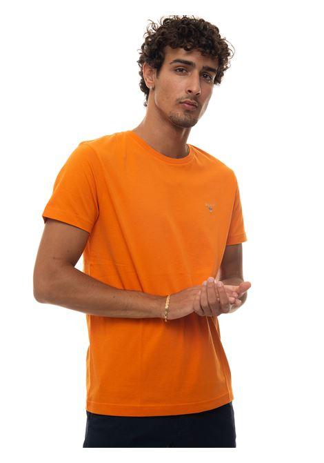 Round-necked T-shirt Gant | 8 | 234100806