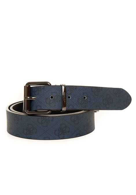 Buckle belt with logo detail Guess | 20000041 | BM7351-VIN35BLU