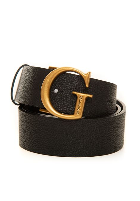 Buckle belt with logo detail Guess | 20000041 | BW7451-VIN35BLA