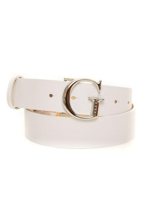 Cintura con fibbia logata Guess | 20000041 | BW7451-VIN35WHI