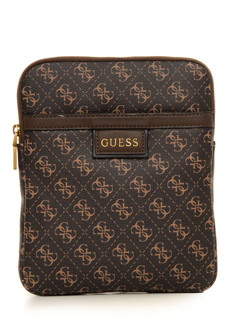 Shoulder bag in logo-textile Guess | 20000001 | HMVEZL-P1123DKB