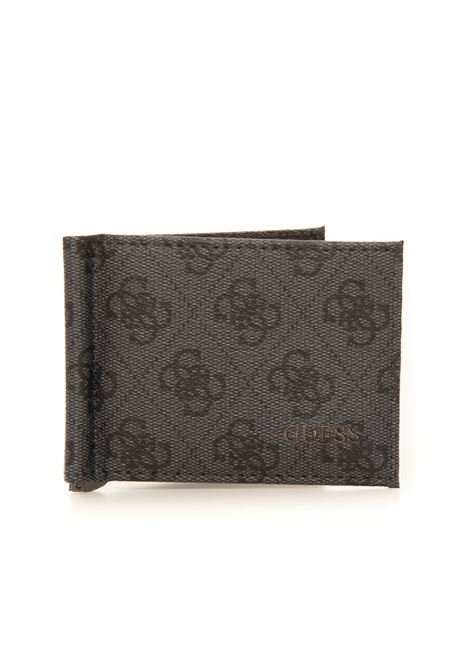 Wallet with money clip Guess | 63 | SMVEZL-LEA23BLA