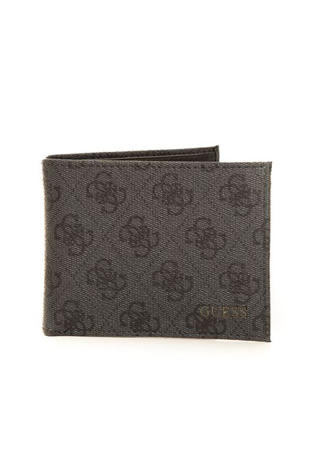 Zip leather wallet medium size Guess | 63 | SMVEZL-LEA27BLA