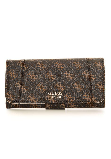 Naya wallet with press stud tab fastener Guess | 63 | SWQL78-81590BBL