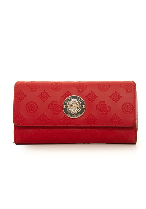 Dayane wallet with press stud tab fastener Guess | 63 | SWSG79-68620RED