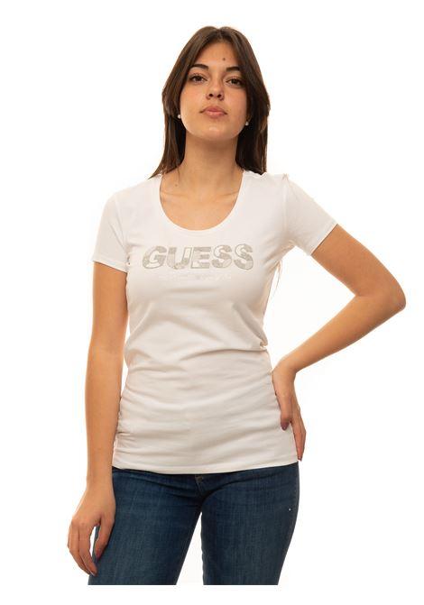 T-shirt girocollo Guess | 8 | W1GI36-J1300TWHT