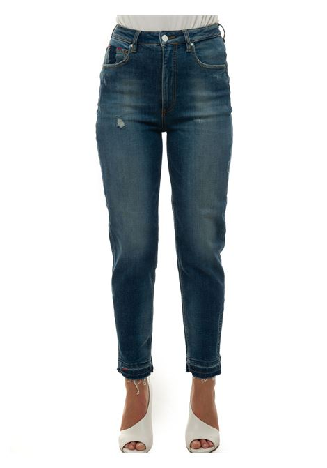 Jeans 5 tasche con rotture MOM JEAN Guess | 24 | W1RA21-D46A4GLRS