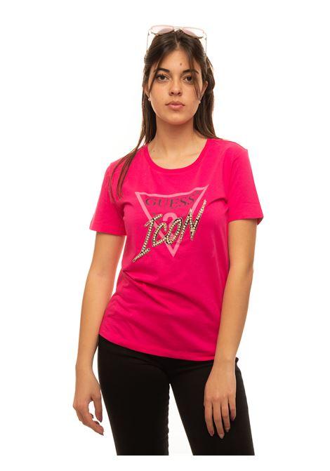 T-shirt girocollo Guess | 8 | W1RI25-13Z00G64E