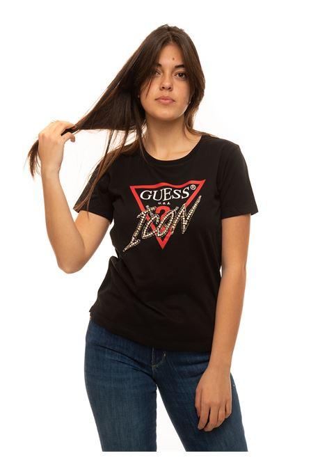 T-shirt girocollo Guess | 8 | W1RI25-13Z00JBLK