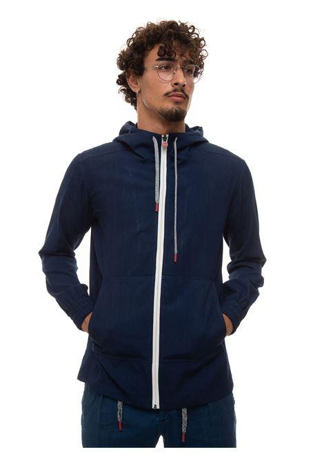 Sweatshirt with zip Kiton | 20000055 | UMC010-76251