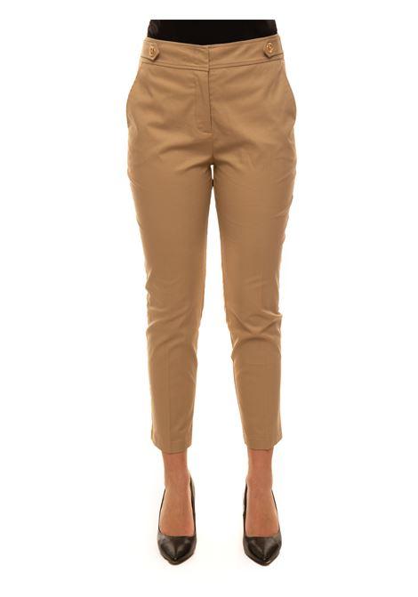 Stretchy mixed cotton drainpipe trousers Liu Jo | 9 | CA1005T2398X0341