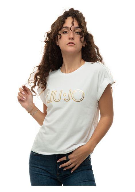 Round-necked T-shirt Liu Jo | 8 | CA1099J500311111