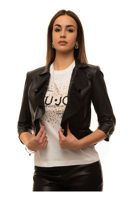 Faux leather jacket Liu Jo | -276790253 | IA1115E064122222
