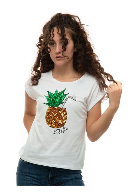 T-shirt short sleeves Liu Jo | 8 | WA1175J5003T9589ANANAS
