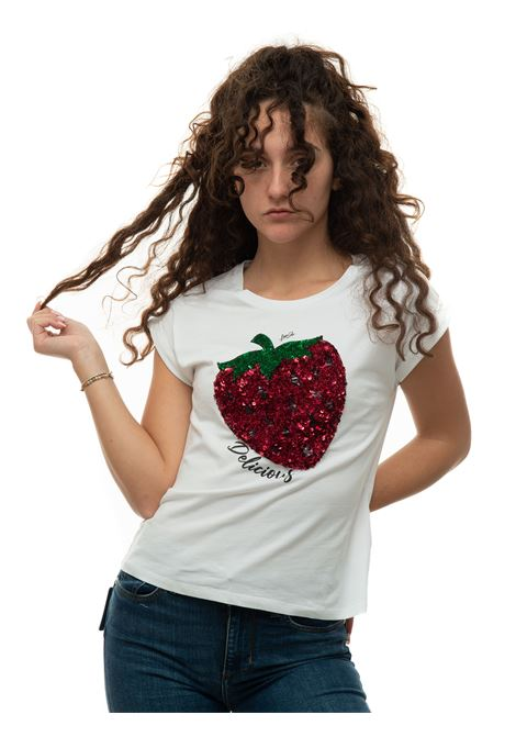 T-shirt mezza manica Liu Jo | 8 | WA1175J5003T9590 FRAGOLA