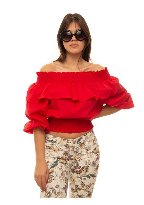 Camicia da donna in cotone Liu Jo | 6 | WA1576T417391664