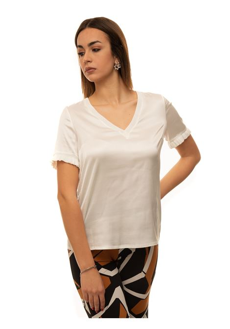 V-necked t-shirt Maria Bellentani | 8 | 5046-100005