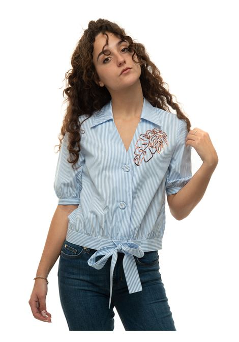 Camicia da donna oversize fornace Pennyblack | 6 | FORNACE-3101