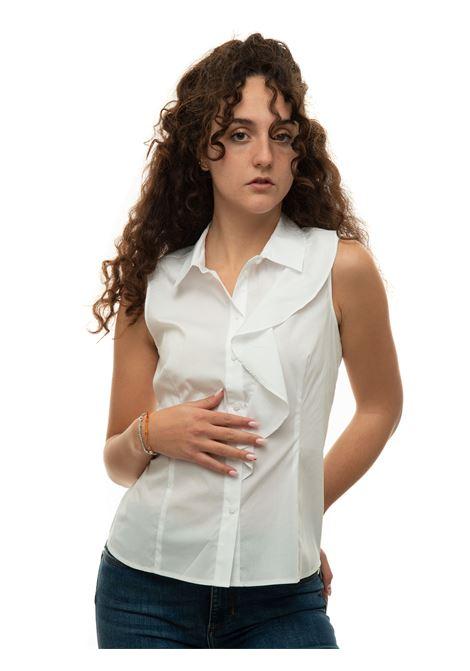 Camicia da donna in cotone raffa Pennyblack | 6 | RAFFA-2391