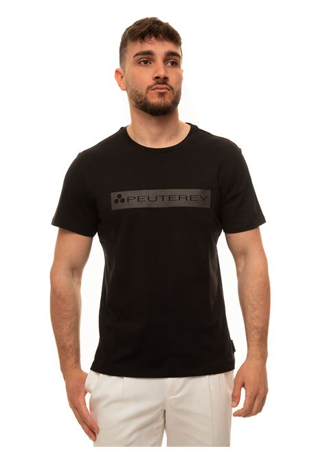 ANDROSPTY02 Short-sleeved round-necked T-shirt Peuterey | 8 | ANDROSPTY02-PEU3518-99012026NER