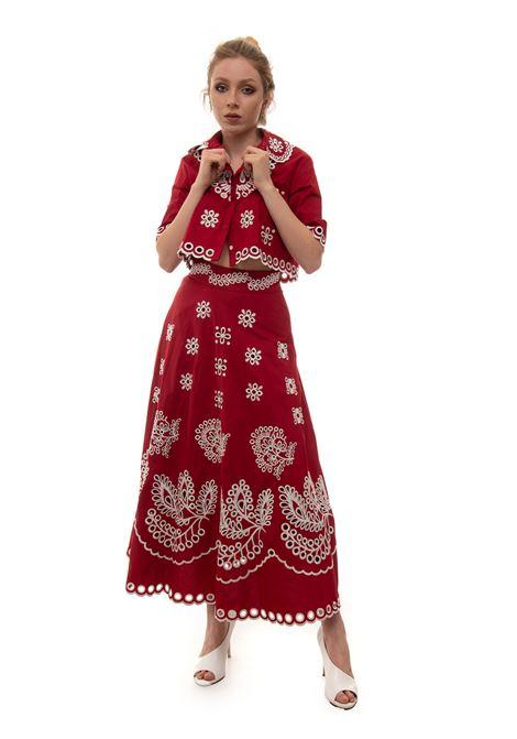 Camicia da donna in cotone Red Valentino | 6 | VR0AA02S-5TCB91