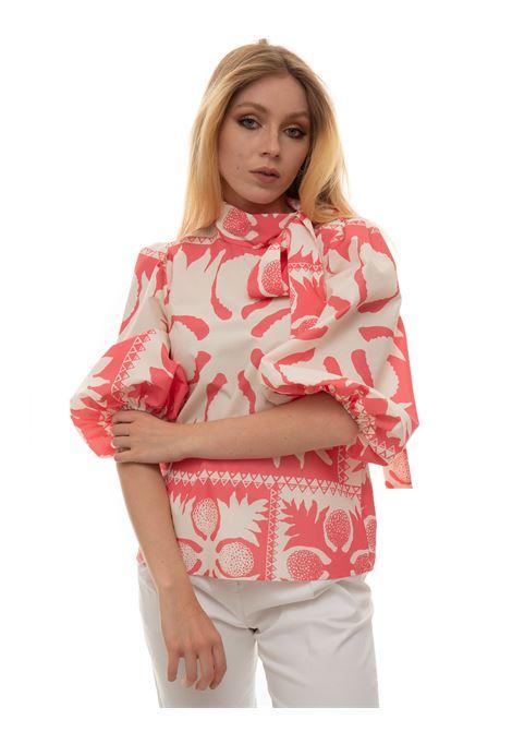 Camicia da donna fantasia Red Valentino | 6 | VR0AAC55-5SA38V