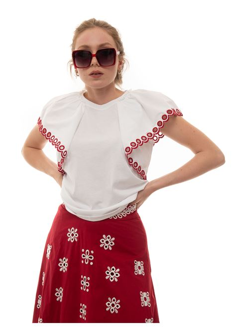 T-shirt Red Valentino | 8 | VR0MG09I-5W40BO
