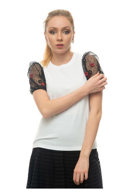 Round-necked T-shirt Red Valentino | 8 | VR3MG09Q-5QDA01