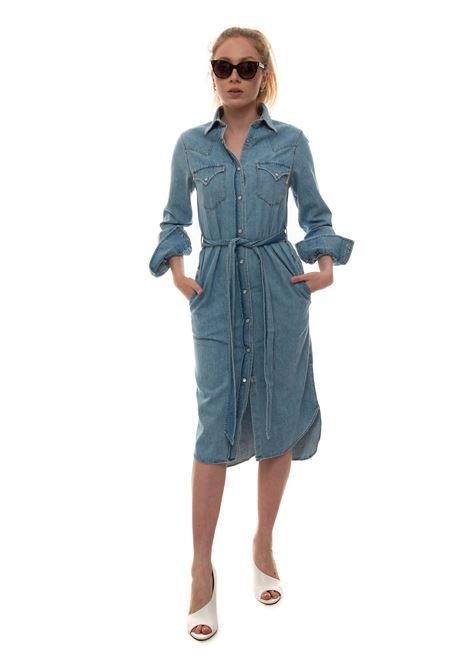 Chemisier dress Roy Rogers | 130000002 | P21RND404D2971389DENIM