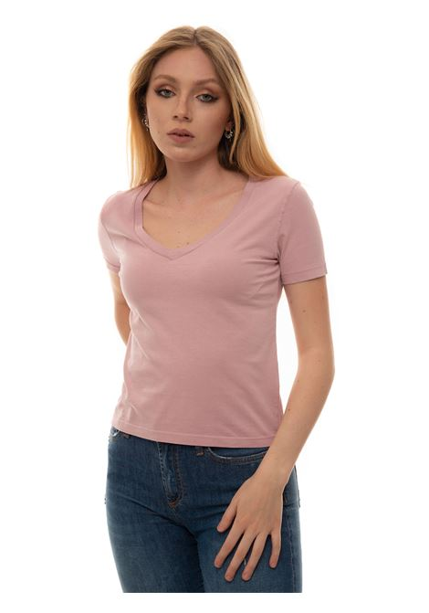 V-necked t-shirt Roy Rogers | 8 | P21RND464CA450000ROSA