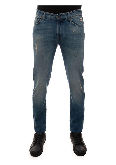 Jeans 5 tasche con rotture Roy Rogers | 24 | P21RRU075D3391620DENIMMEDIO