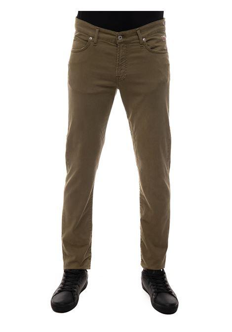 Pantalone 5 tasche Roy Rogers | 9 | P21RRU089P0370127ARMY
