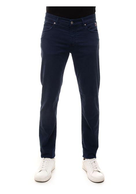 Pantalone 5 tasche Roy Rogers | 9 | P21RRU089P0370127BLUNAVY
