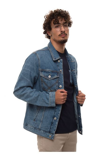 Giubbino in jeans Roy Rogers | -276790253 | P21RRU300C381715DENIMMEDIO